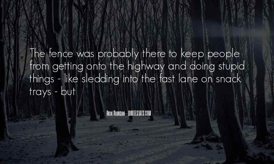Quotes About Sledding #501459