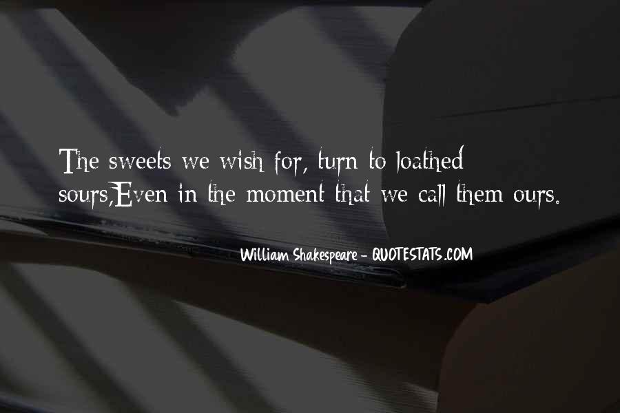 Quotes About Sweet Moments #529813