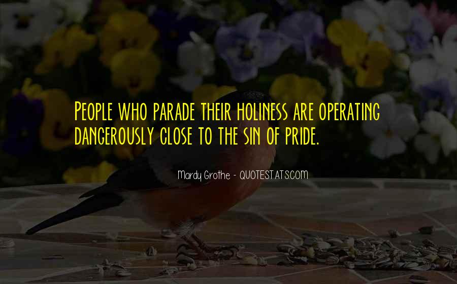 Quotes About Pride Parade #1639502