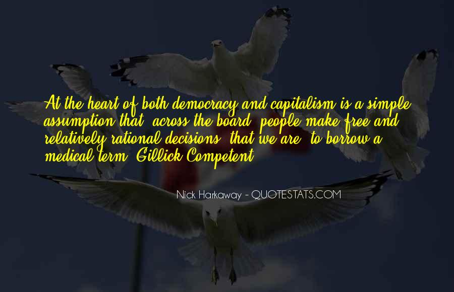 Quotes About Rational Decisions #308406