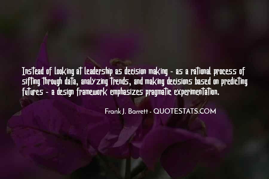 Quotes About Rational Decisions #533997