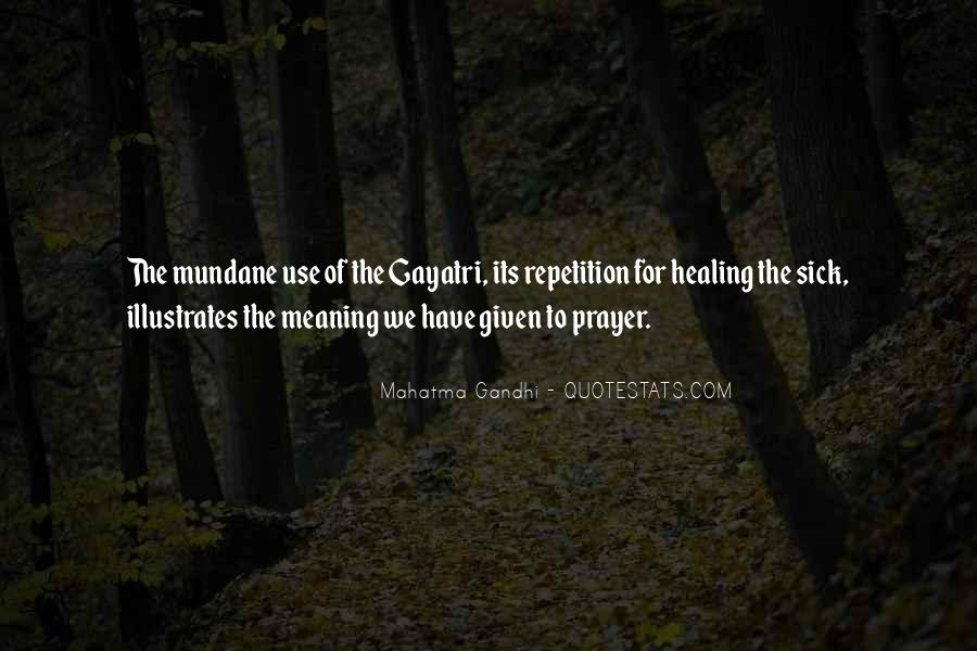 Quotes About Prayer And Healing #1300086