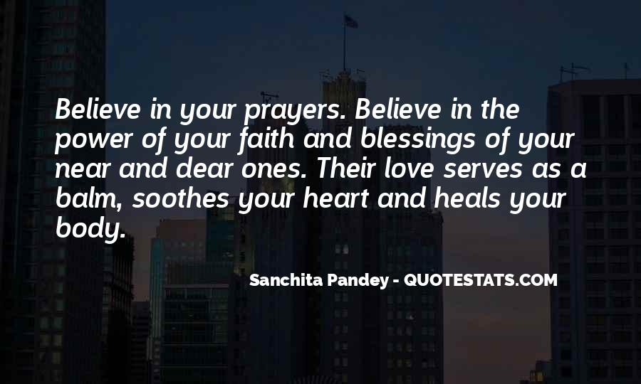 Quotes About Prayer And Healing #157734