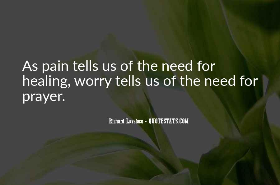 Quotes About Prayer And Healing #1858710