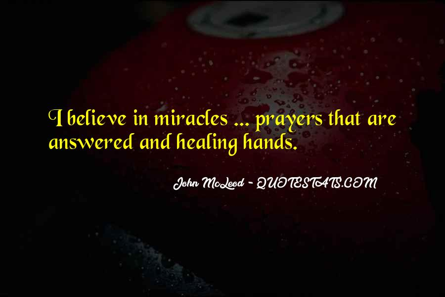 Quotes About Prayer And Healing #450279