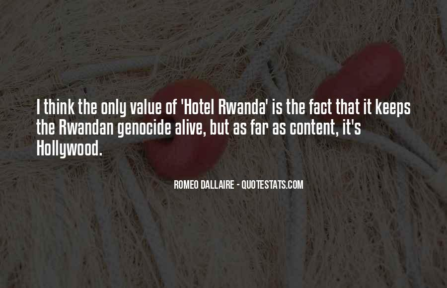 Quotes About Hotel Rwanda #1442334