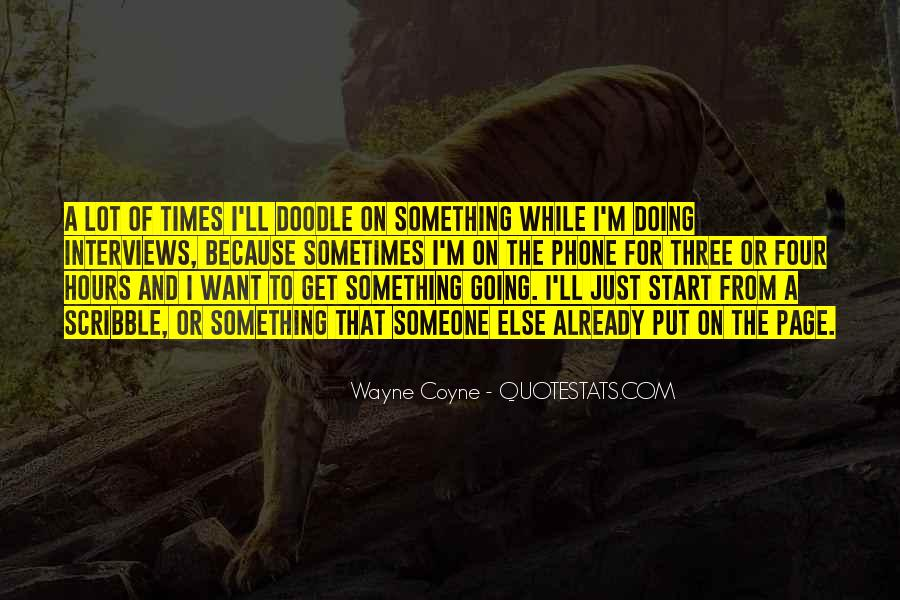 Quotes About Doing Something For Someone Else #639866