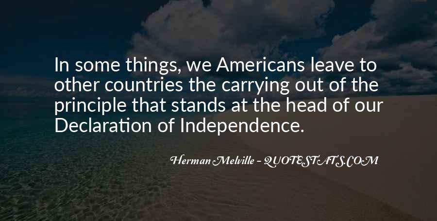 Quotes About Independence Of A Country #1207293