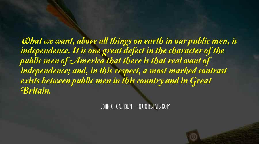 Quotes About Independence Of A Country #1339350