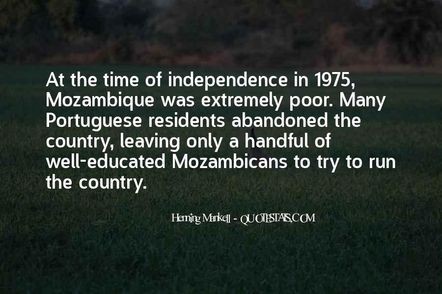 Quotes About Independence Of A Country #344475