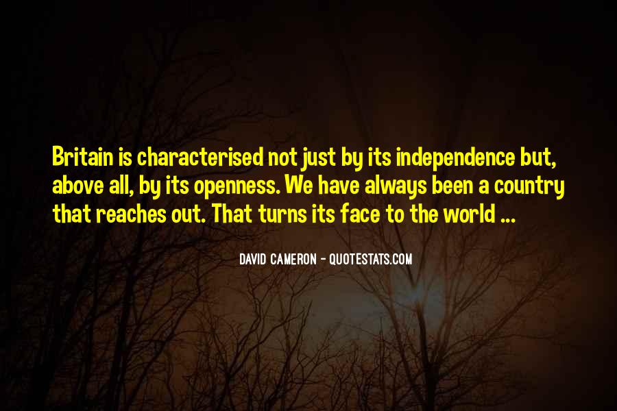 Quotes About Independence Of A Country #530702
