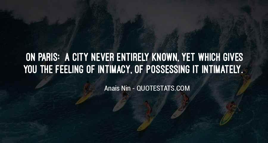 Quotes About Intimacy #69220