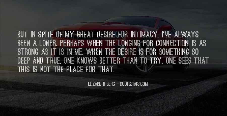 Quotes About Intimacy #80660