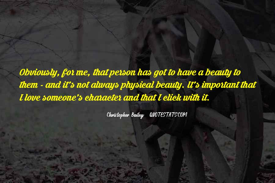 Quotes About Beauty And Character #1012021