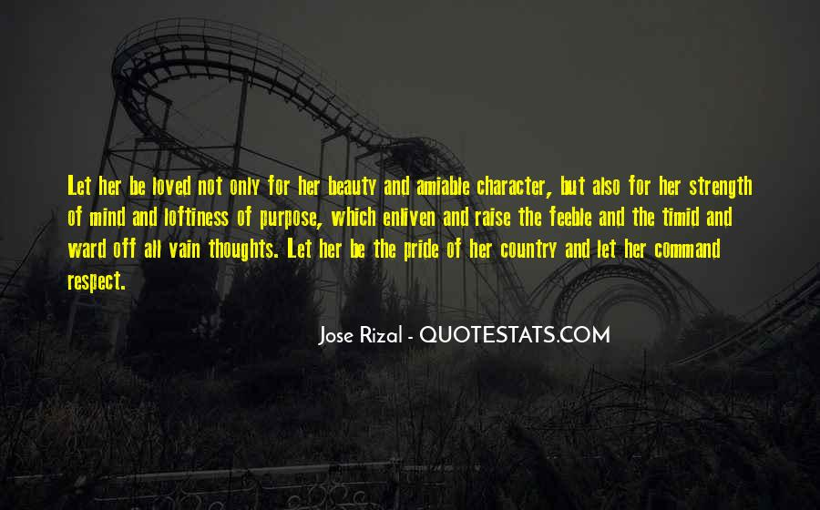Quotes About Beauty And Character #1458427