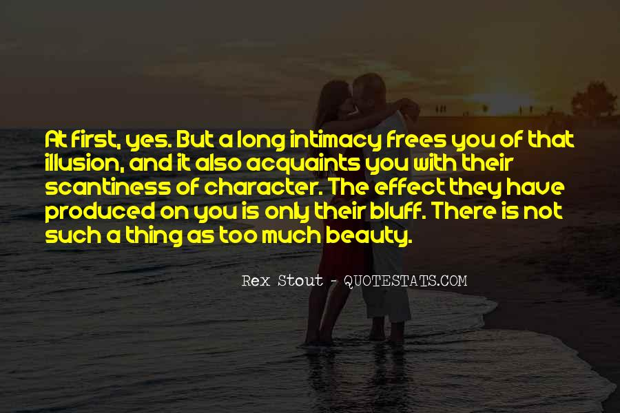 Quotes About Beauty And Character #1874045