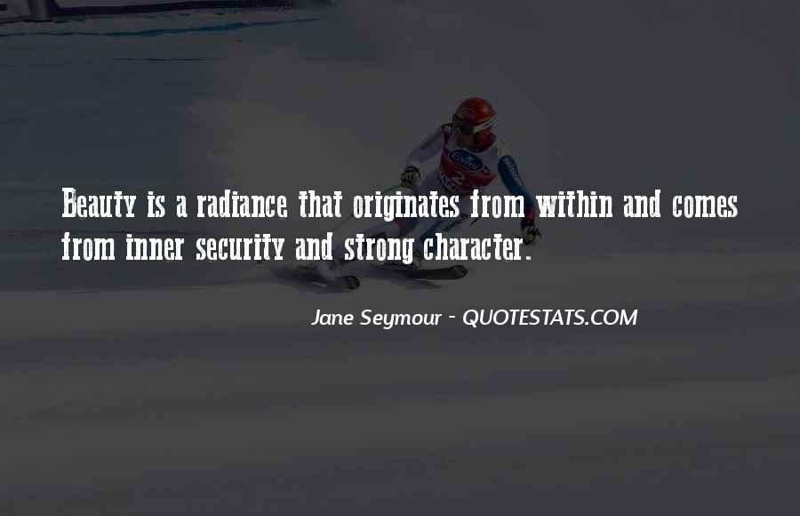 Quotes About Beauty And Character #806140
