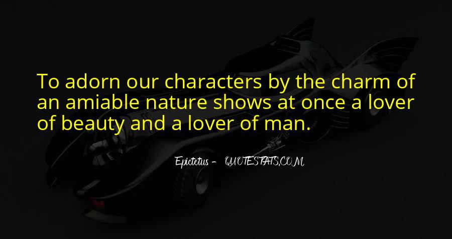 Quotes About Beauty And Character #886805