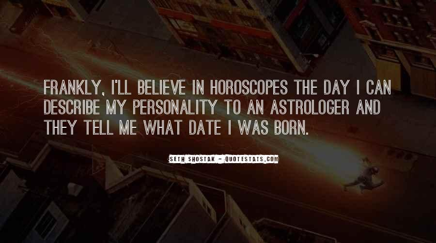 Quotes About Horoscopes #250039