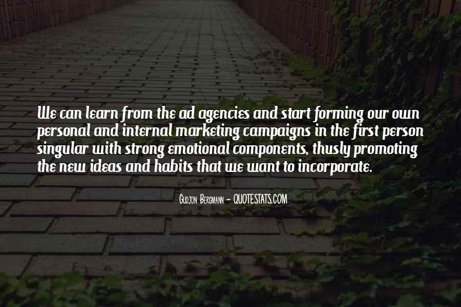 Quotes About Forming New Habits #452710