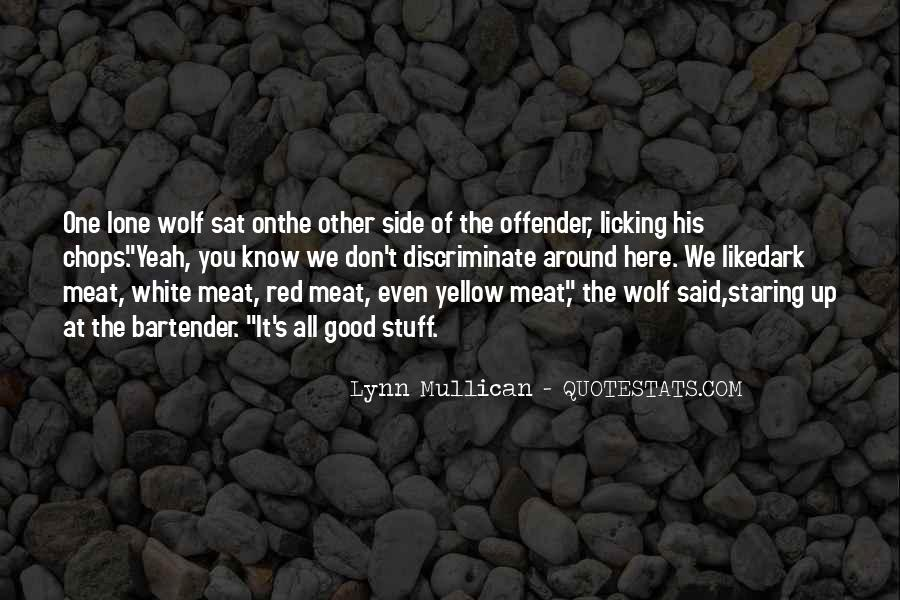 Quotes About Lone Wolf #1348765