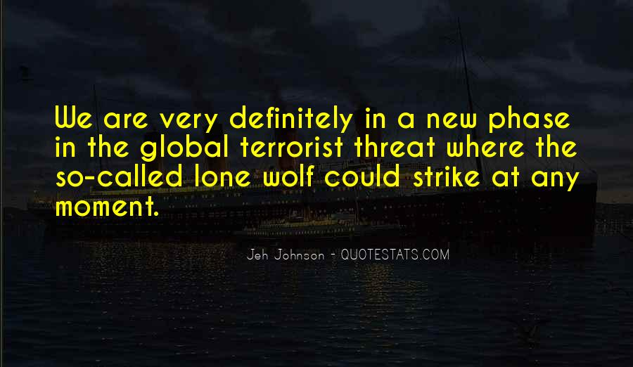 Quotes About Lone Wolf #1364276