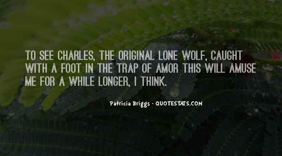 Quotes About Lone Wolf #1522757