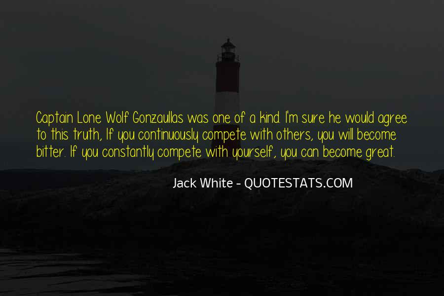Quotes About Lone Wolf #1627918