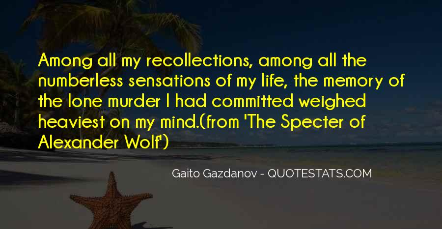 Quotes About Lone Wolf #296726