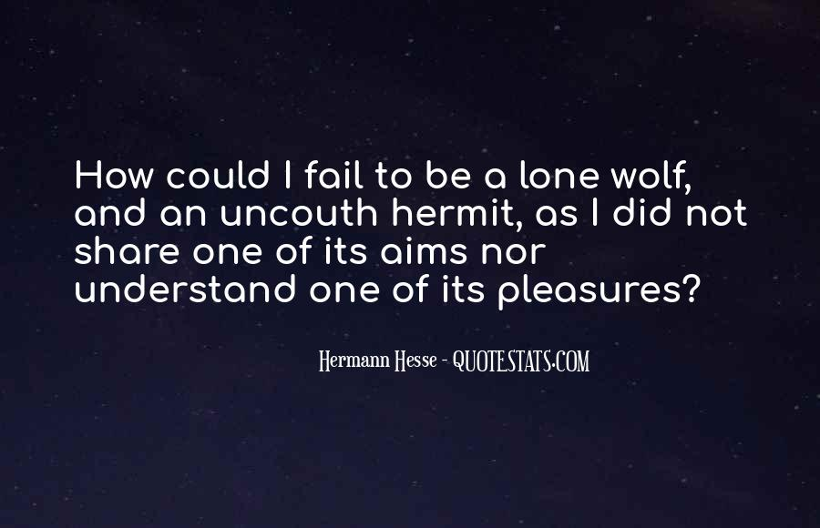Quotes About Lone Wolf #299481