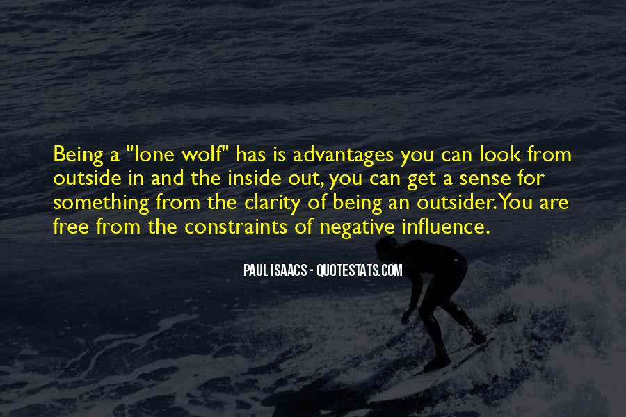 Quotes About Lone Wolf #406806