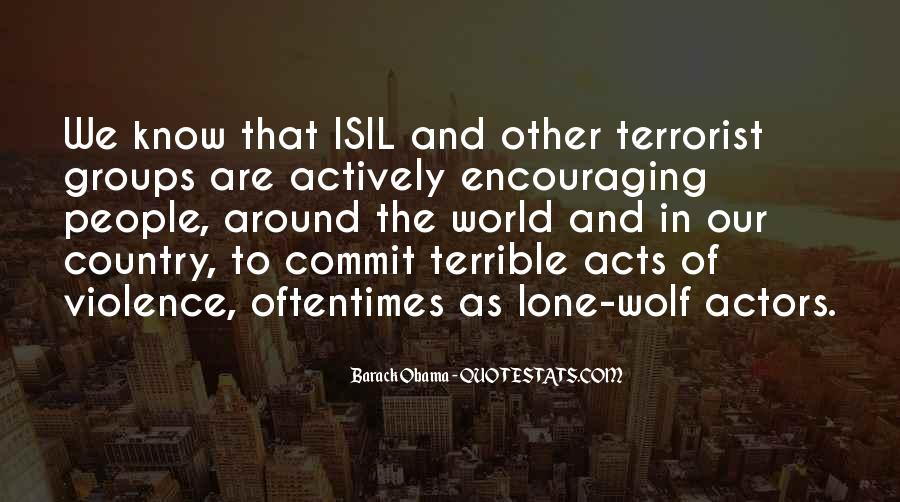 Quotes About Lone Wolf #545021