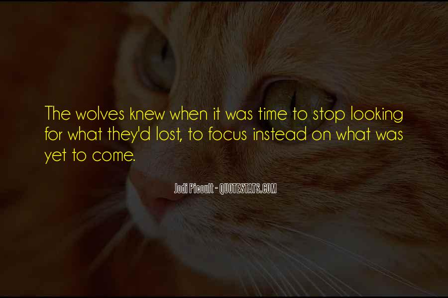 Quotes About Lone Wolf #802970
