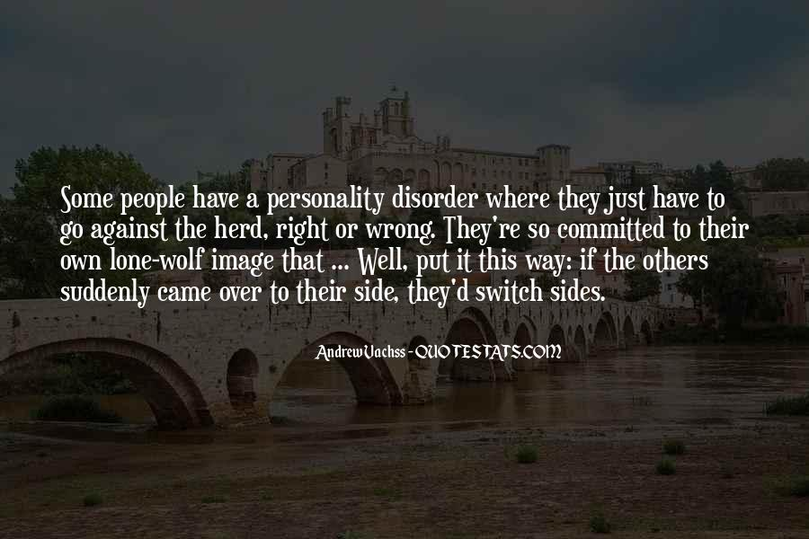 Quotes About Lone Wolf #96015