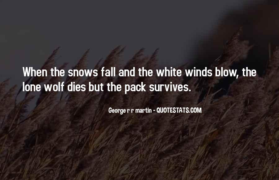 Quotes About Lone Wolf #997203