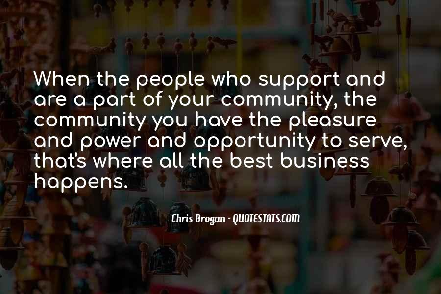 Quotes About Community And Support #1009128