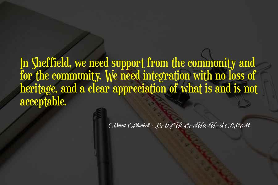 Quotes About Community And Support #1095049