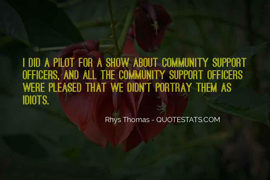 Quotes About Community And Support #1280203