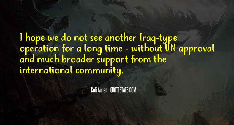 Quotes About Community And Support #1384169