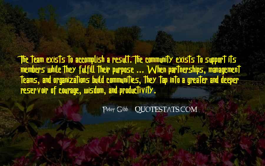 Quotes About Community And Support #1738401