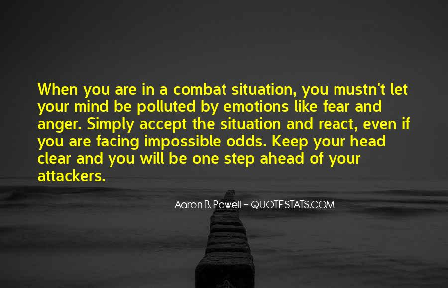 Quotes About Impossible Odds #1269829
