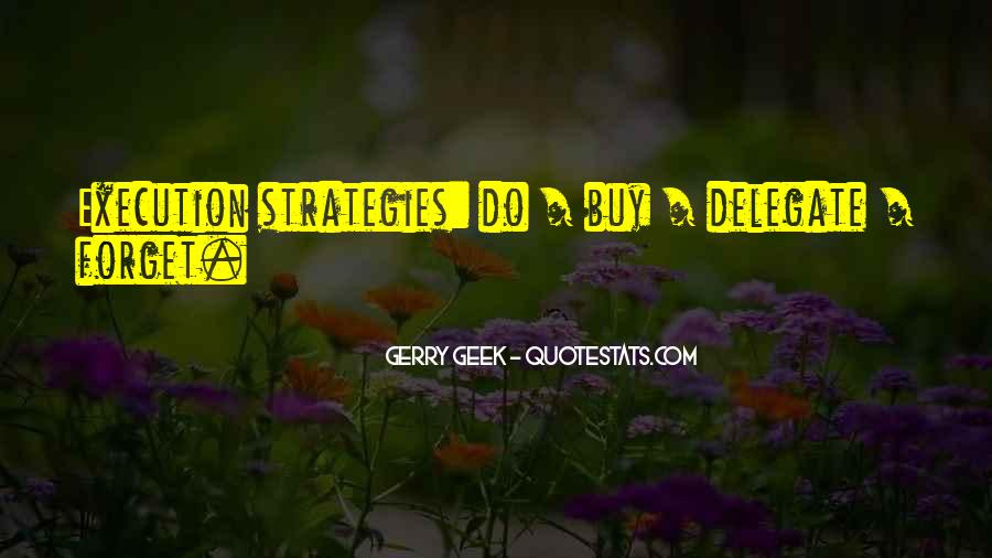 Quotes About Business Strategies #381265