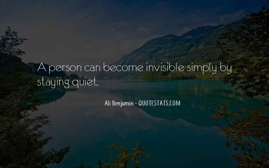 Quotes About Not Staying Quiet #616284