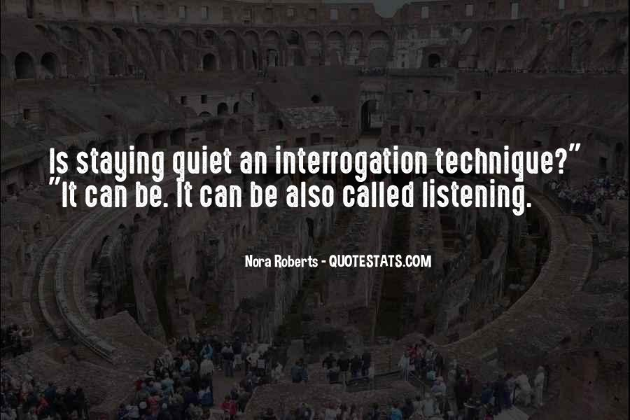 Quotes About Not Staying Quiet #627920