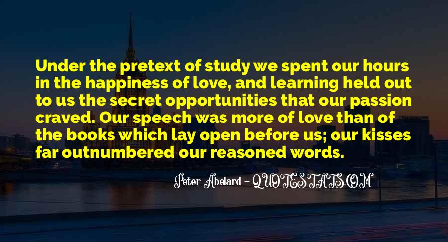 Quotes About Kisses And Happiness #539647