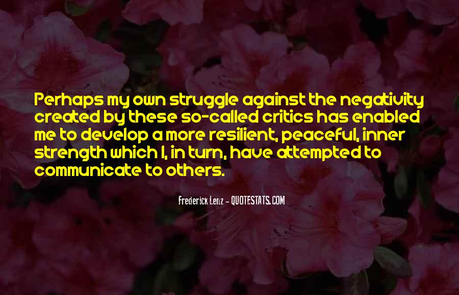 Quotes About Others Negativity #1140977