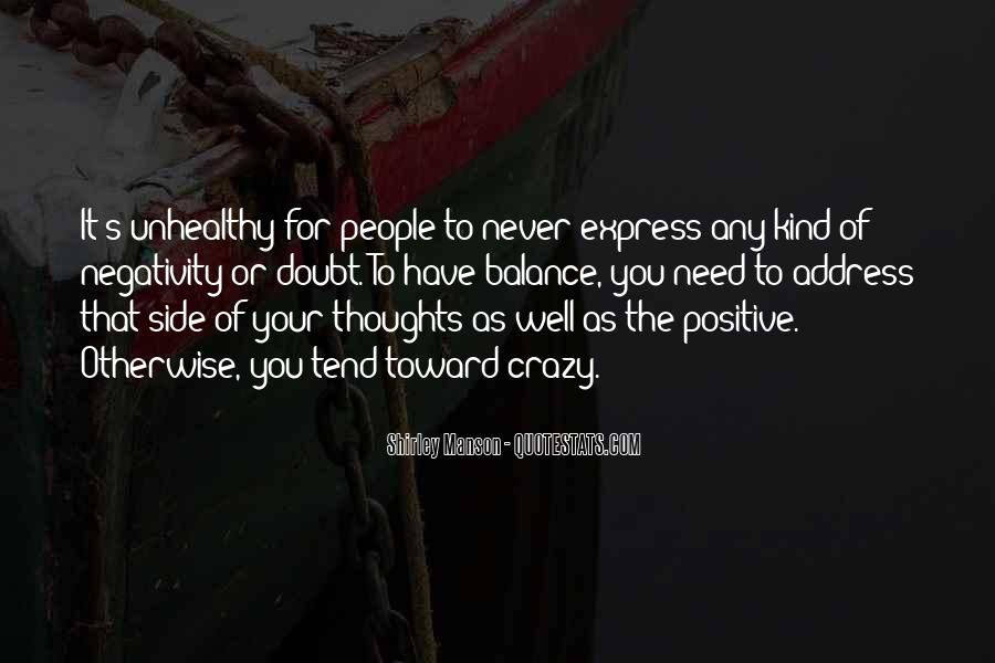 Quotes About Others Negativity #52534