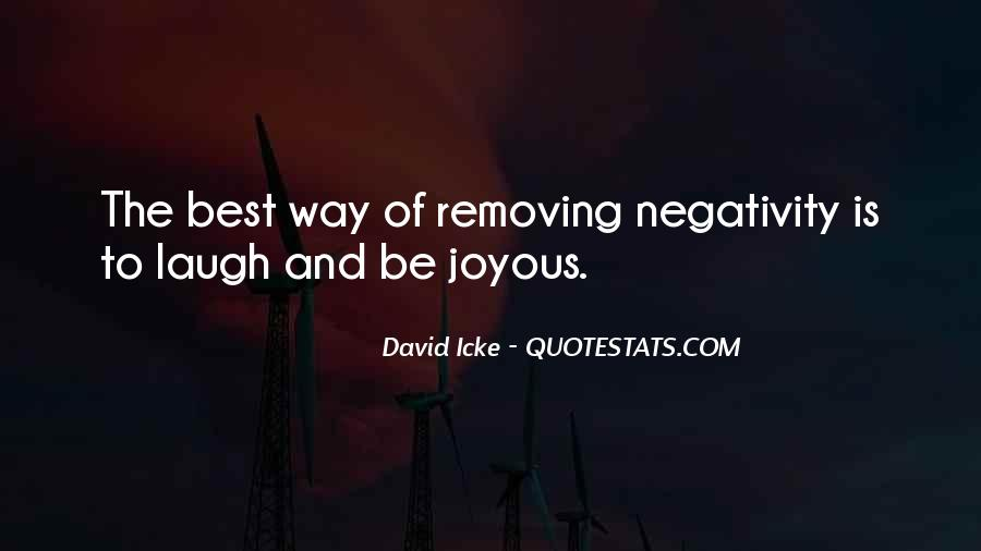 Quotes About Others Negativity #63236