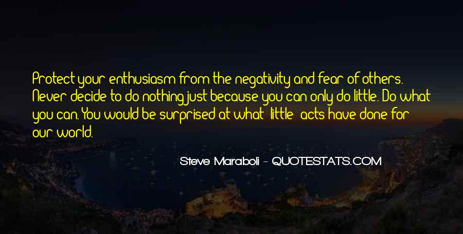 Quotes About Others Negativity #80117