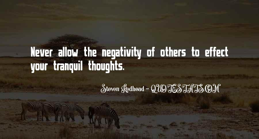 Quotes About Others Negativity #92360